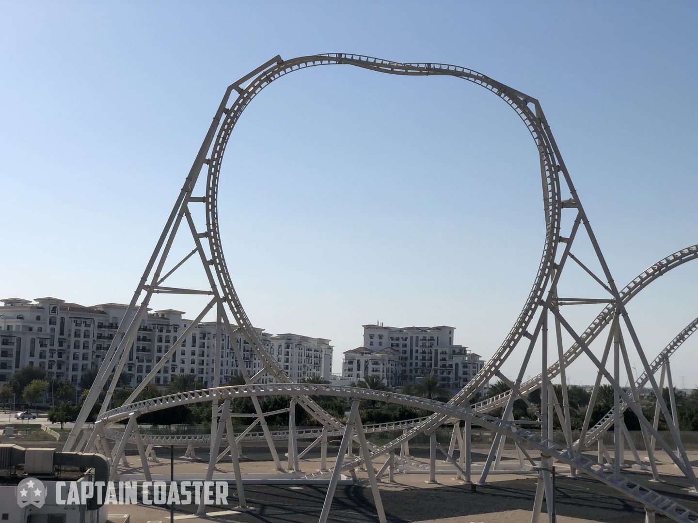 Flying Aces Ferrari World Abu Dhabi Captain Coaster