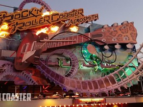 Rock'n Roller Coaster avec Aerosmith