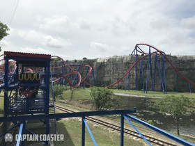 Superman Krypton Coaster