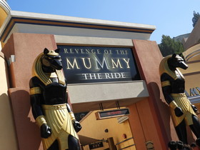 Revenge of the Mummy the Ride